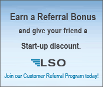 Earn Referral Bonus and give your friend a Start-up discount with LSO.